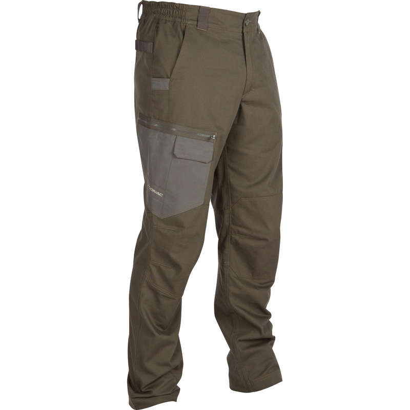TROUSERS/SHIRTS Shooting and Hunting - 900 Trousers Green SOLOGNAC - Hunting and Shooting Clothing