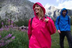 Waterdichte wandeljas voor dames Raincut - 984023
