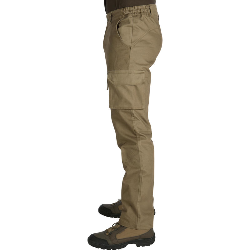 กางเกงขายาวสำหรับการส่องสัตว์รุ่น 520 (สีเขียว)