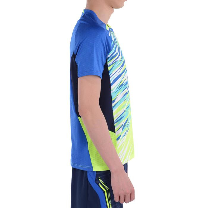 Heren T-shirt 860, voor badminton, tafeltennis, padel, squash, geel