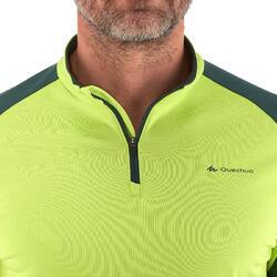 Heren T-shirt met lange mouwen Forclaz 100 Warm - 984459