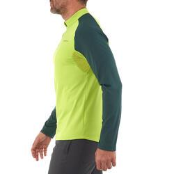 Heren T-shirt met lange mouwen Forclaz 100 Warm - 984471