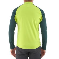 Heren T-shirt met lange mouwen Forclaz 100 Warm - 984473