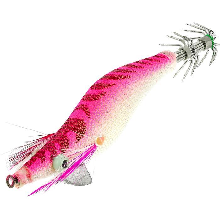 Turlutte EGI plombé rose 1.8 pêche des seiches/calamars
