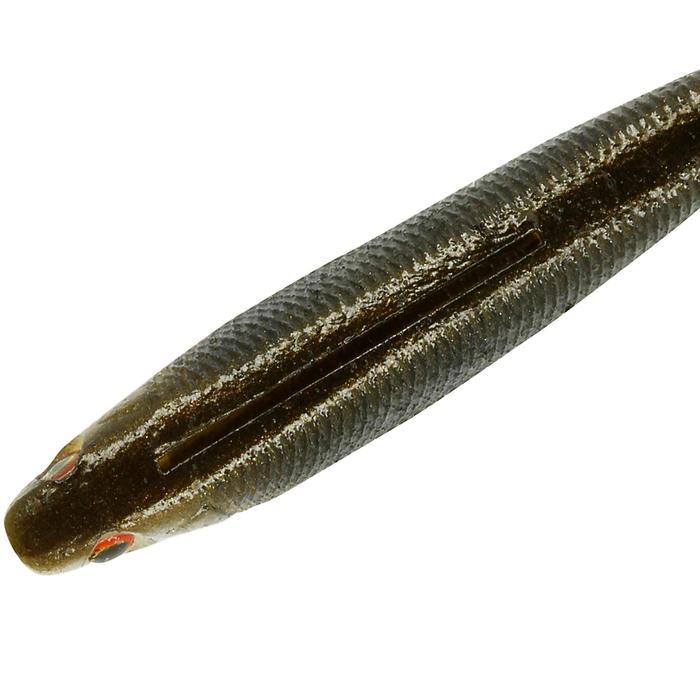 Softbait hengelsport zoet water Duckfin Shad 6 cm Roach x9