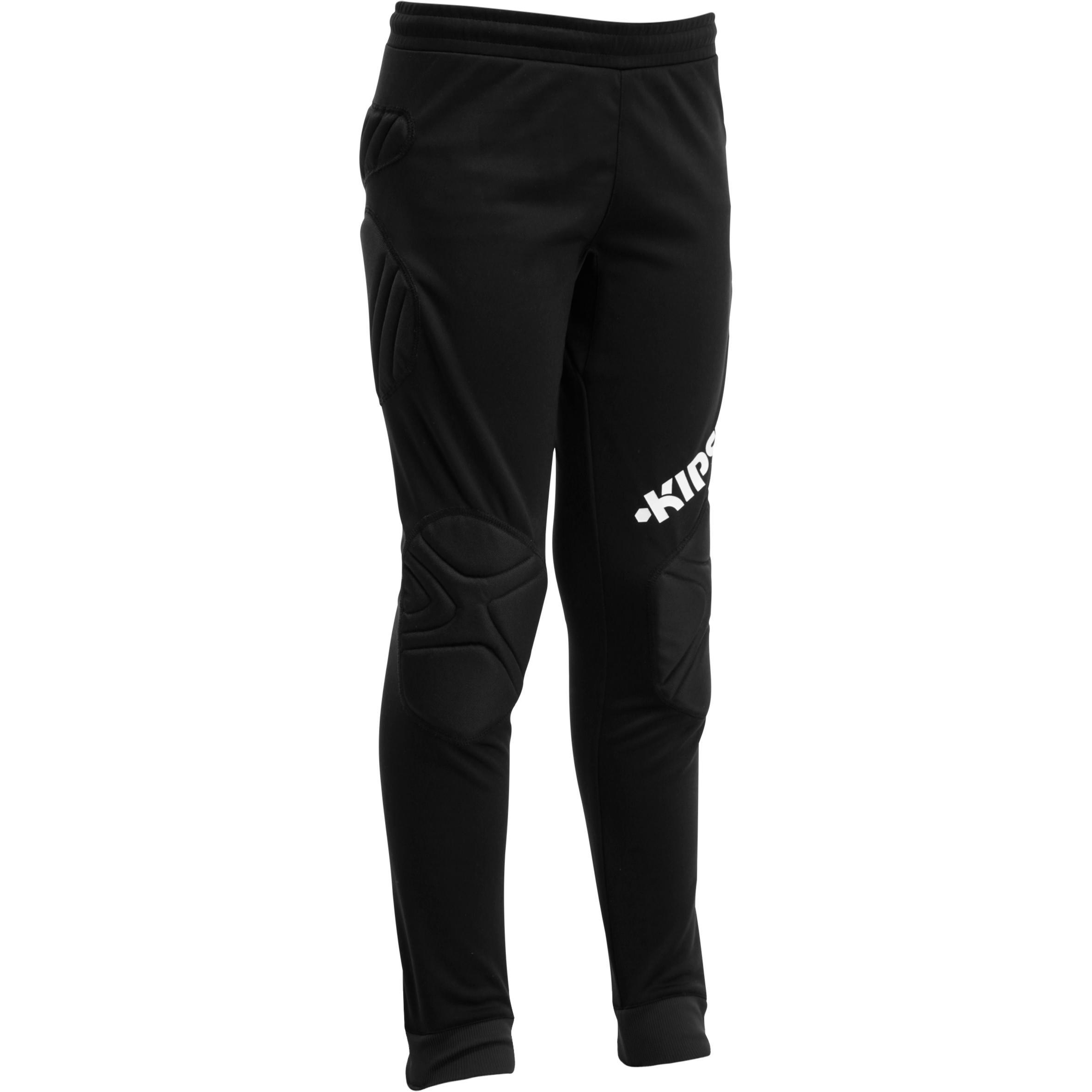 Pantalon de gardien de soccer adulte F300 noir