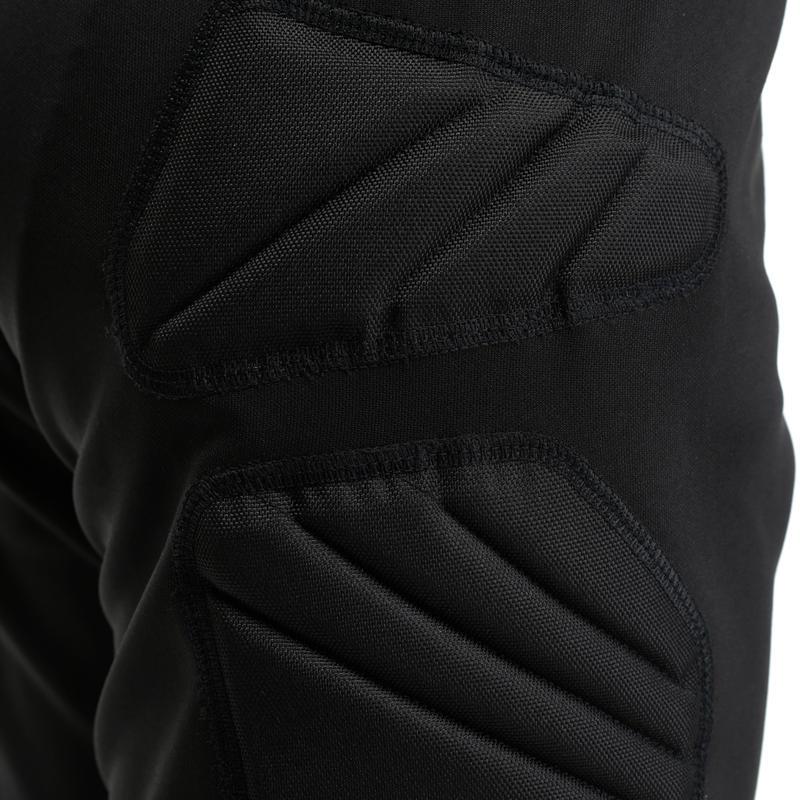 Pantalón pescador de arquero de fútbol para niños F300 negro