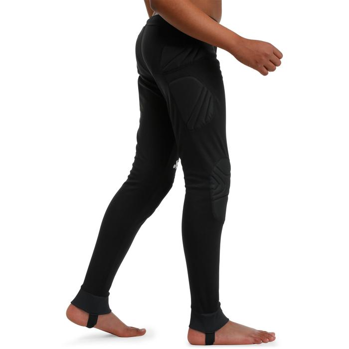 Pantalon de gardien de football adulte F300 noir - 98648