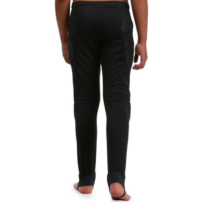 Pantalon de gardien de football enfant F300 noir - 98649