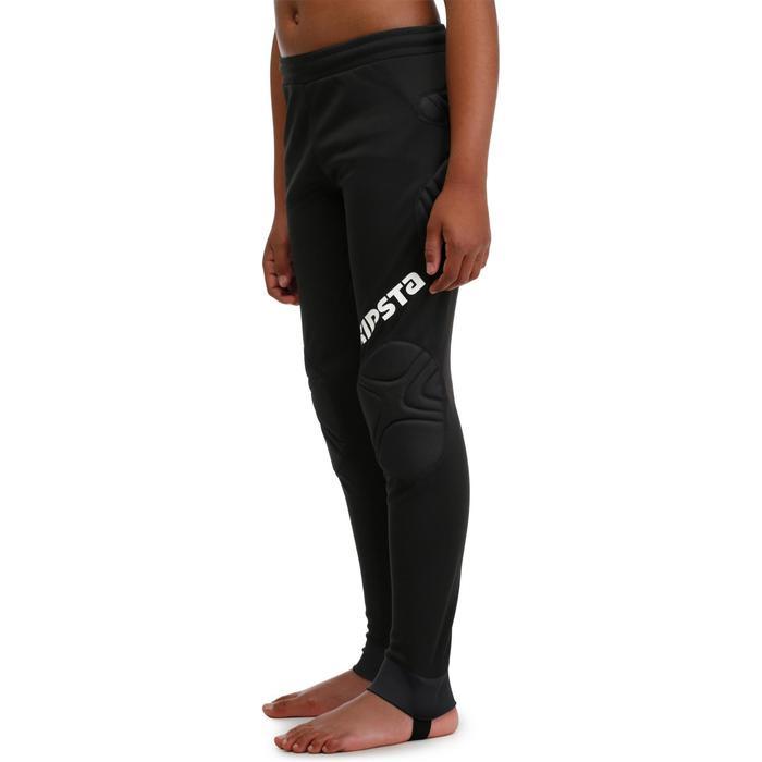 Pantalon de gardien de football enfant F300 noir - 98652