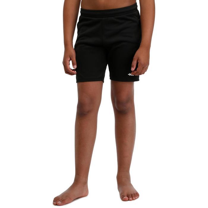 Short de gardien de but de football adulte F300  noir - 98657