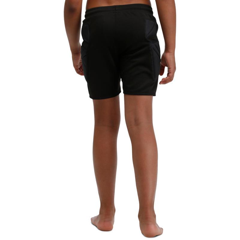 F300 Adult Football Goalkeeper Shorts - Black