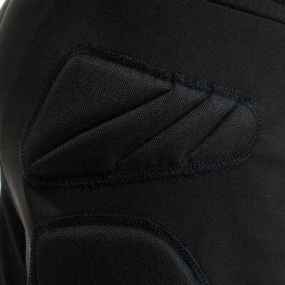 F300 Kids' Football Goalkeeper Bottoms - Black