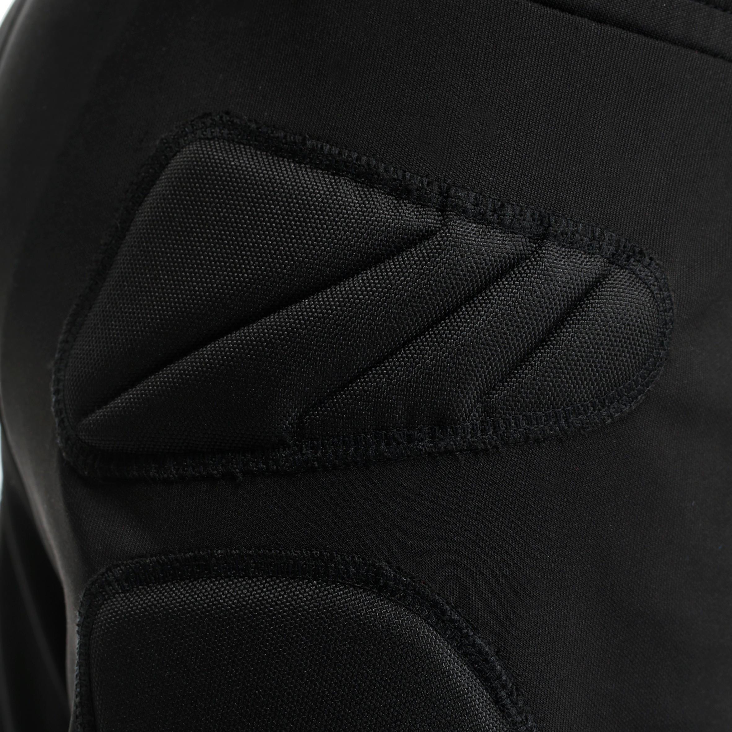 F300 Kids' Football Goalkeeper Bottoms - Black