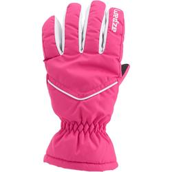 SKI GLOVES, CHILD, GLOVES SLIDE 100, BLACK
