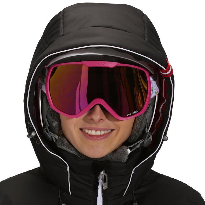 Veste ski femme Slide 500 WARM noire - 986861