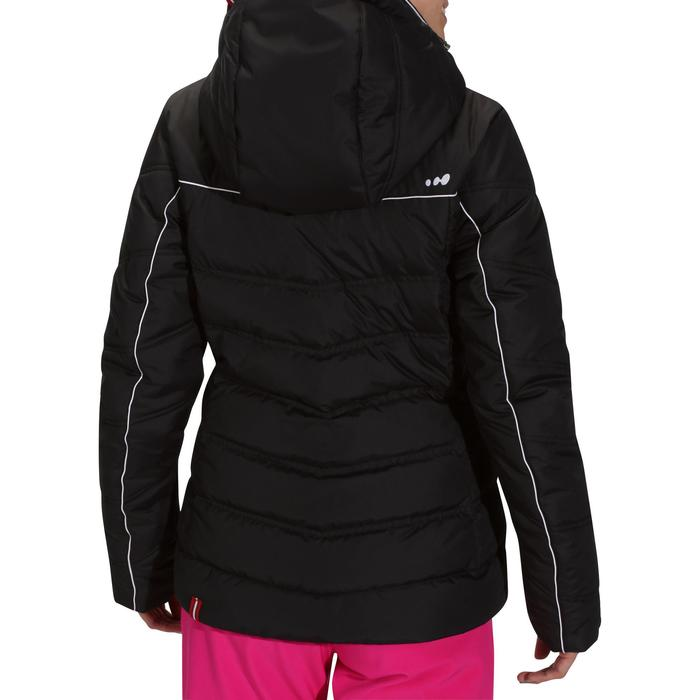 Dames ski-jas Slide 500 Warm zwart