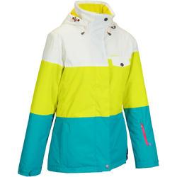 Dames ski-jas Free 300 driekleurig