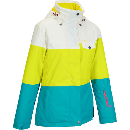 Dames ski-jas Free 300 driekleurig - 986879