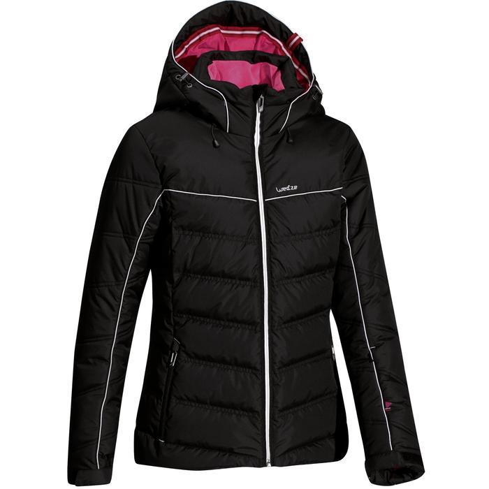Veste ski femme Slide 500 WARM noire - 986911