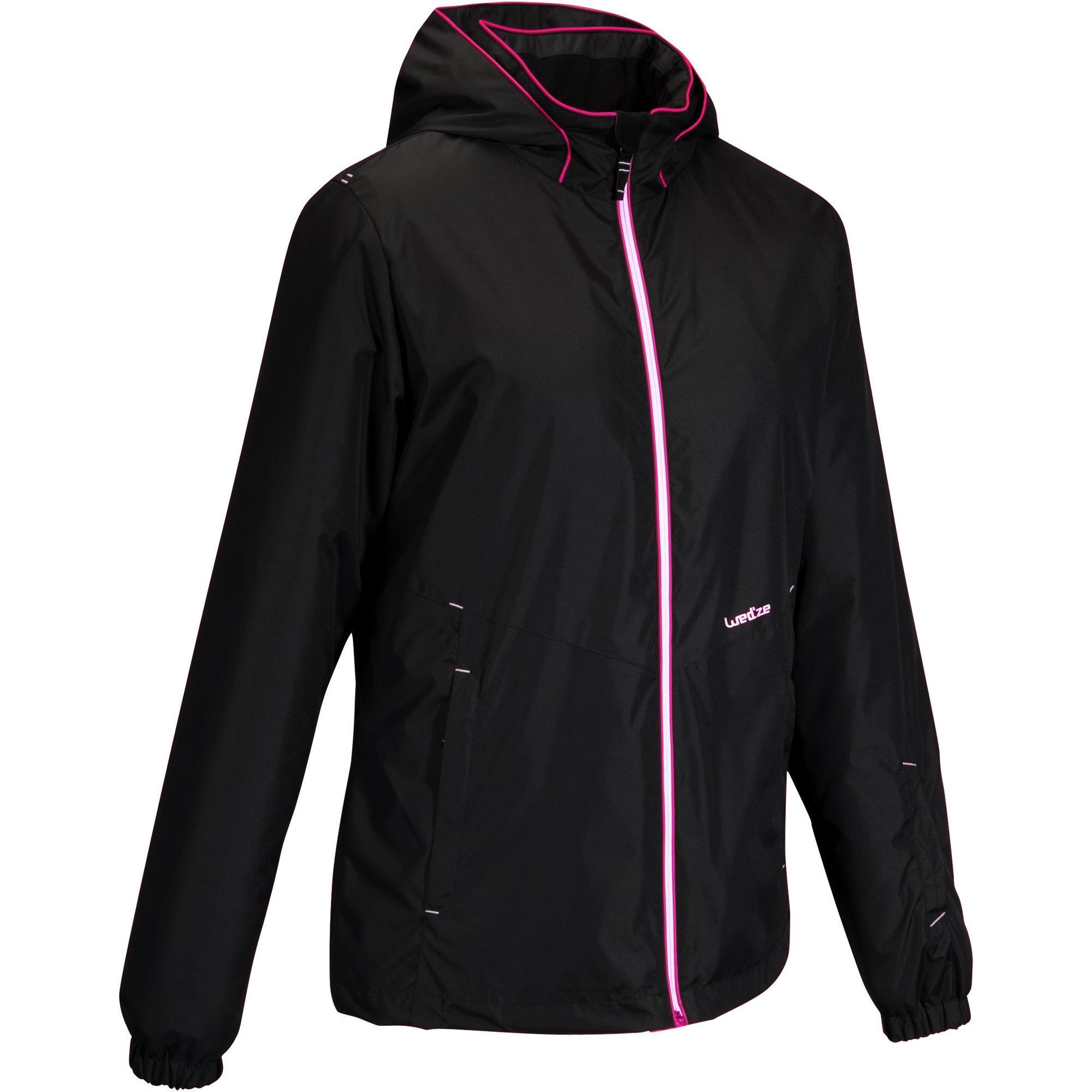 Skijacke 100 Damen schwarz | Sportbekleidung > Sportjacken > Skijacken | Wed'ze