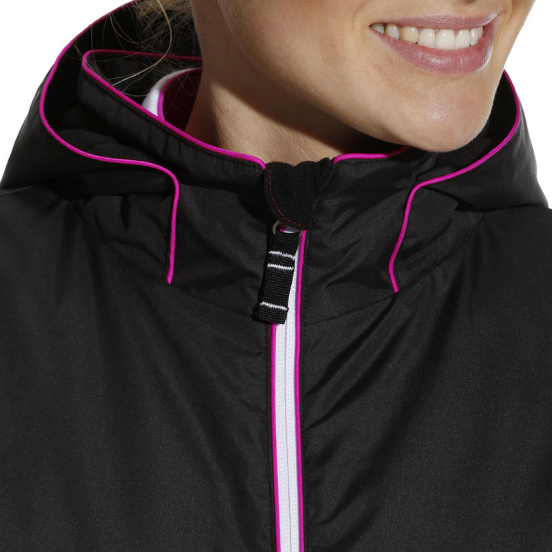 SKI-P 100 WOMEN'S PISTE SKI JACKET - BLACK