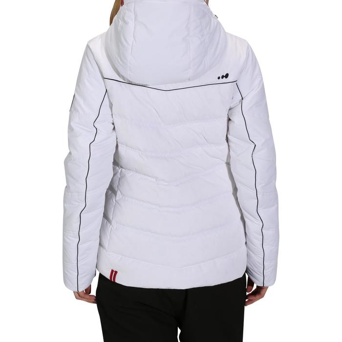Dames ski-jas Slide 500 Warm wit
