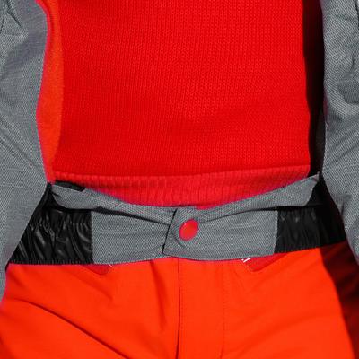 מעיל תרמי לסקי חם לילדים MAXI אפור שחור
