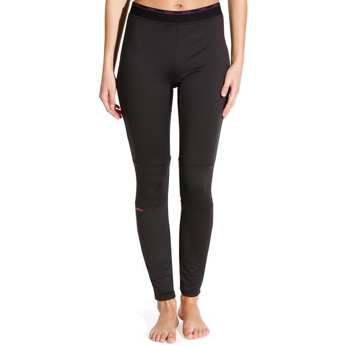 Pantalón de esquí mujer Freshwarm negro