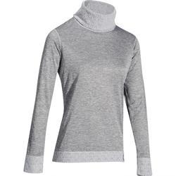 女暖滑雪運動底層衣2WARM-煙霧灰