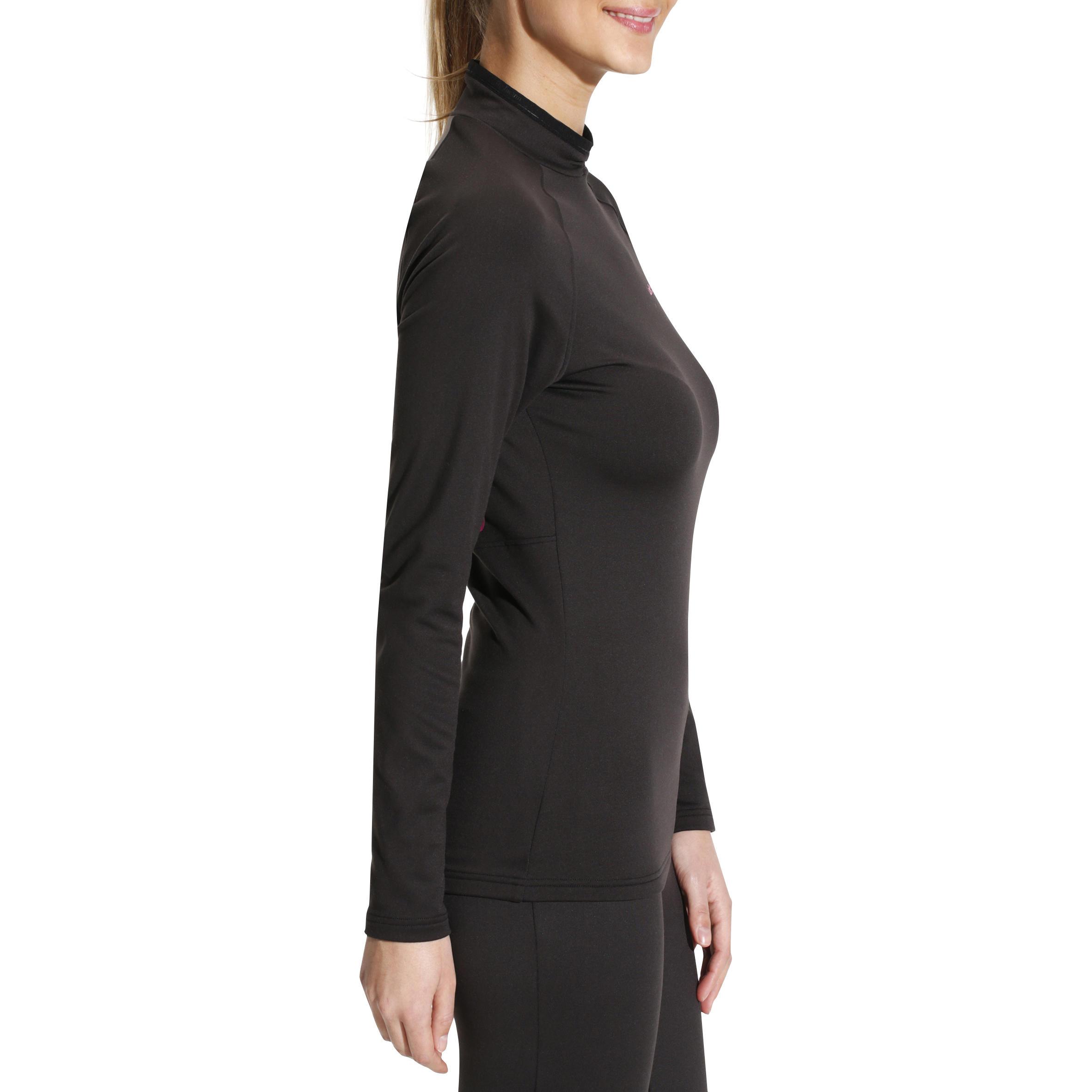 Sous-vêtement haut de ski femme Frais et chaud Noir