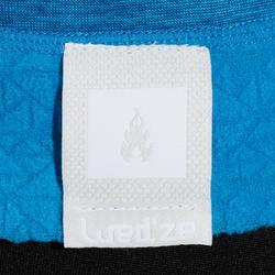 Thermisch skiondershirt voor kinderen 2WARM blauw