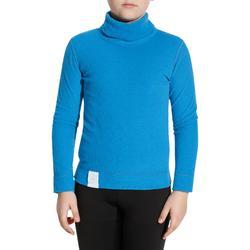 Skiunterwäsche Funktionsshirt 2Warm Kinder blau