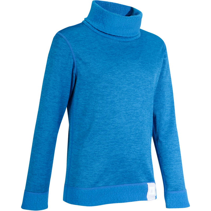 Kids' Base Layer Ski Top 2WARM - Blue