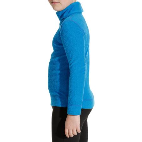 Camiseta de esquí niño 2WARM azul