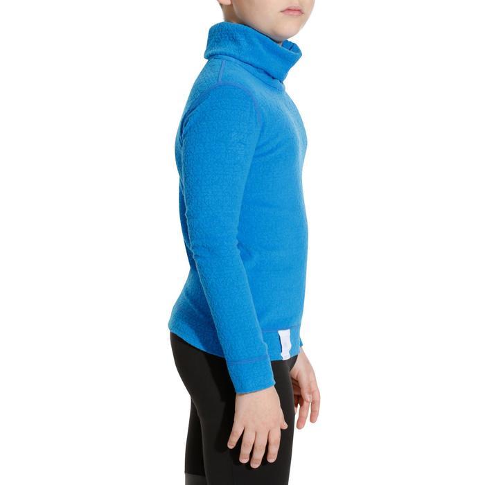 Sous-vêtement haut de ski enfant 2WARM Bleu