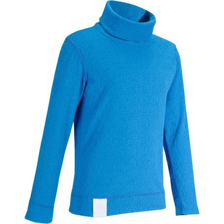 Prenda interior camiseta de esquí niño 2WARM azul  ac8206c59da7a