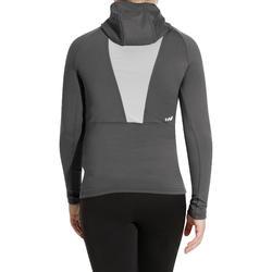 Thermisch skiondershirt voor kinderen Freshwarm Neck grijs