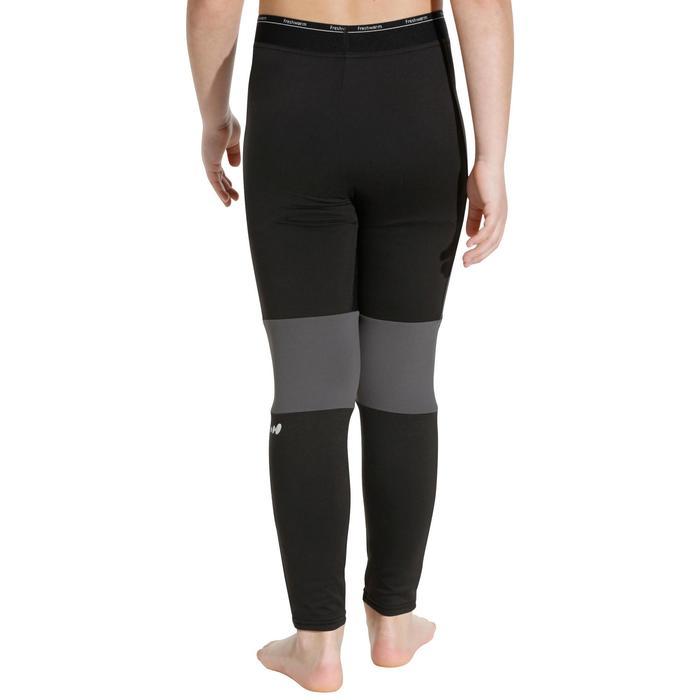Sous-vêtement bas de ski enfant  Freshwarm Noir - 988375