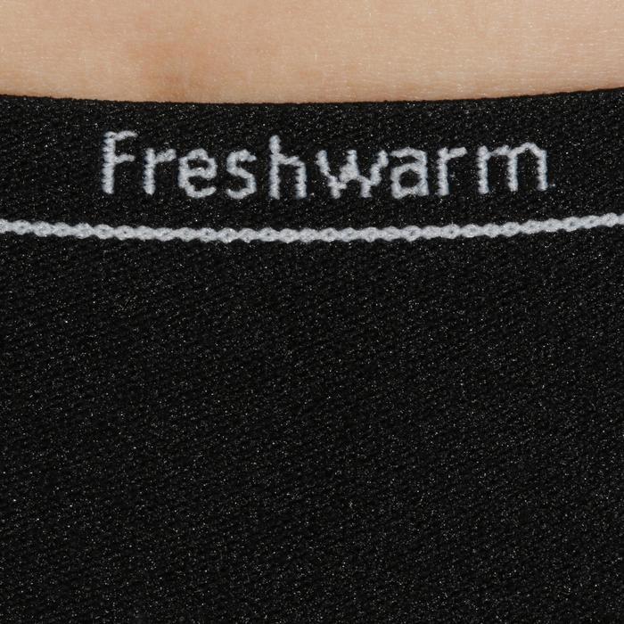 Pantalón Térmico de Esquí Wed'ze Freshwarm Niños Negro
