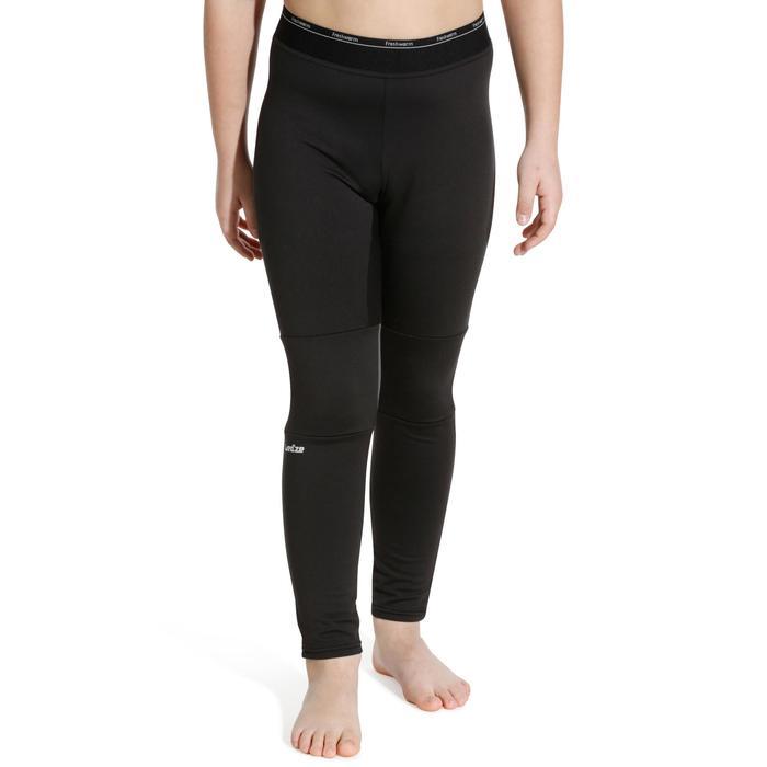 Sous-vêtement bas de ski enfant  Freshwarm Noir - 988385