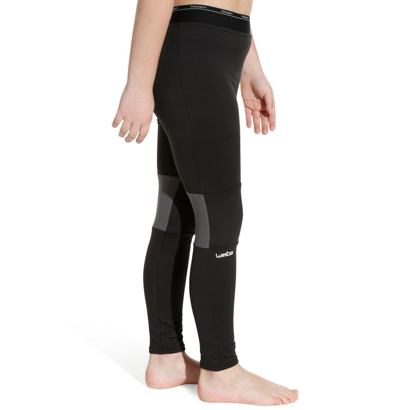Children's Skiing base layer Bottom BL FreshWarm - Black