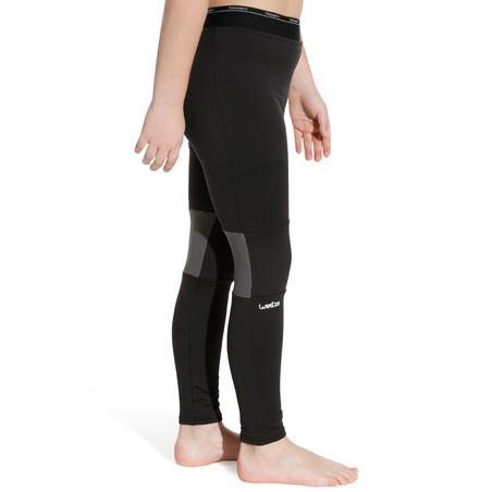 Freshwarm Children's Ski Underwear Bottoms - Hitam