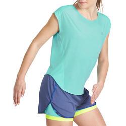 Wijd fitness T-shirt Energy voor dames - 988447