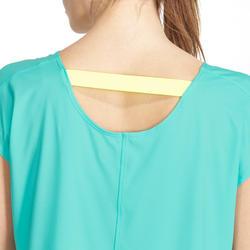 Wijd fitness T-shirt Energy voor dames - 988503