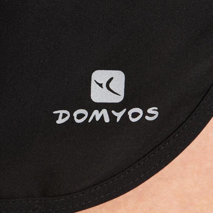 Sporthose kurz 100 Loose Cardio-/Fitnesstraining Damen schwarz