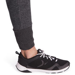 Warme gym broek voor meisjes, slim fit - 988565