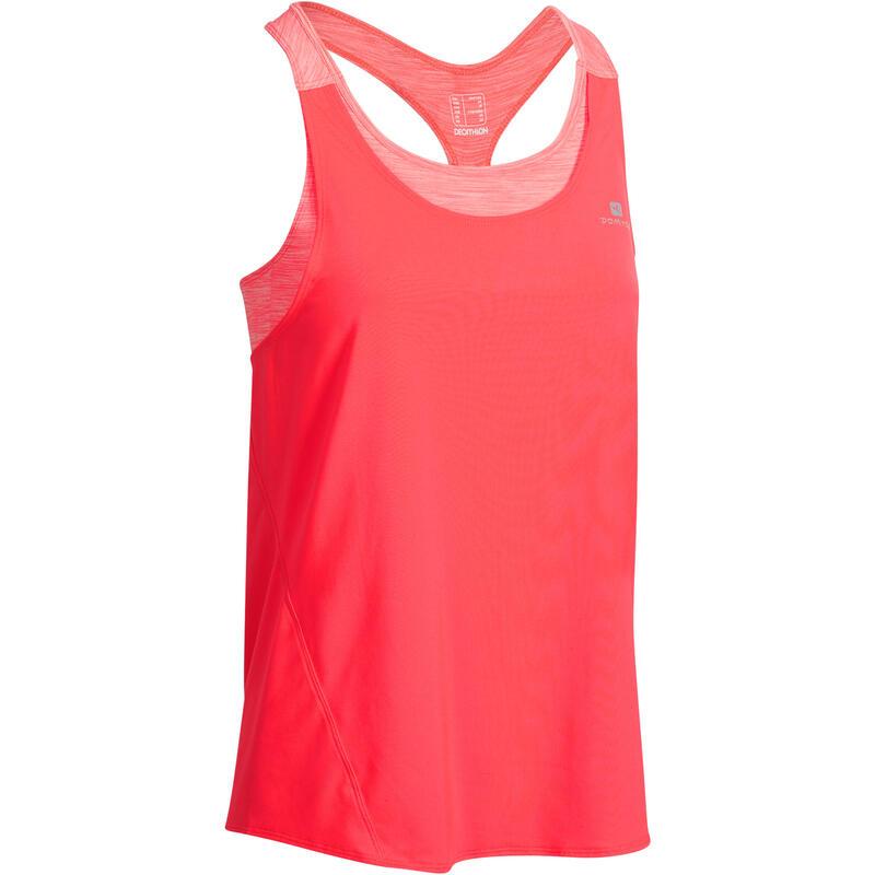 Fitnesstop Energy+ met ingewerkte beha voor dames roze