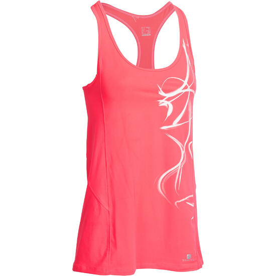 Lange fitnesstop cardio Energy dames ENERGY LONG TOP - 988720