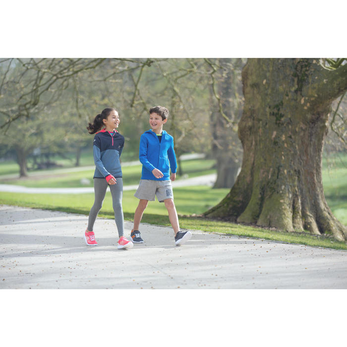 Soft 140 kids' walking shoes navy/white
